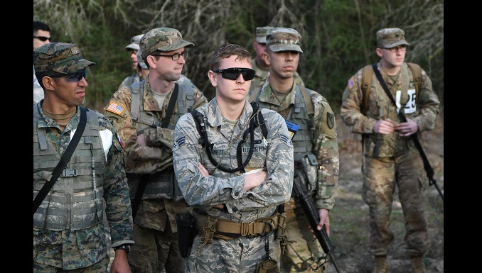 136th AW members compete to be